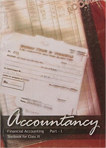 NCERT Accountancy Financial Accounting Part -I Class XI