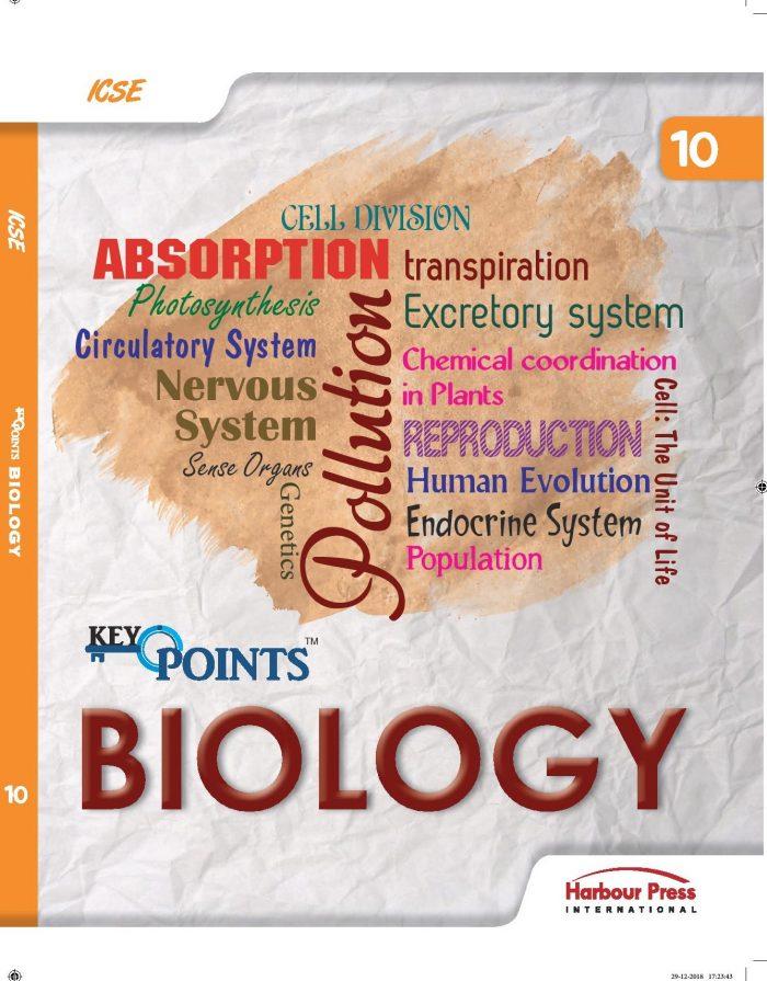 Key Points Biology ICSE Class X