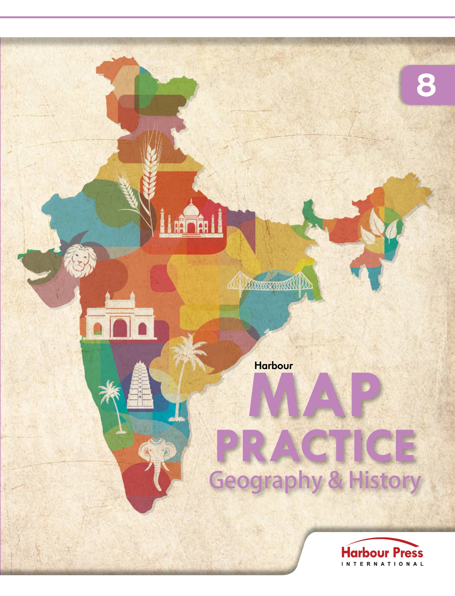 Map Practice Geography And History Class VIII