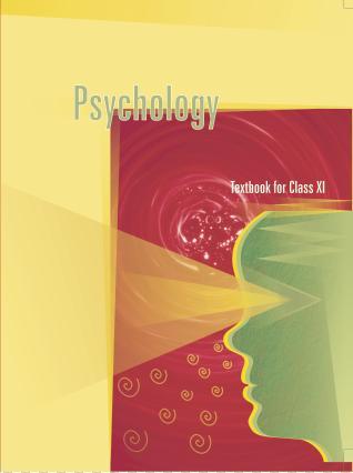 NCERT Psychology Class XI