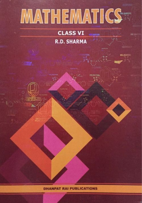 R. D. Sharma Mathematics Class VI