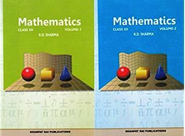 R.D. Sharma Mathematics Vol.1 & Vol.2 Class XII