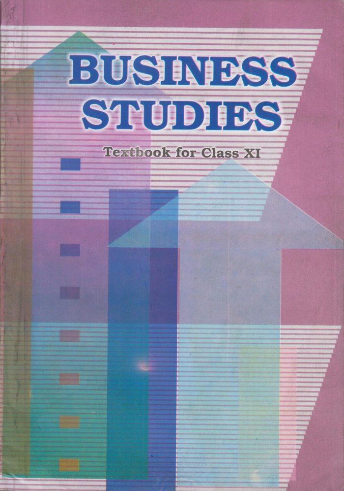NCERT Business Studies Class XI