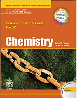 Chemistry For Class IX Part - 2 By Lakhmir Singh And Manjit Kaur