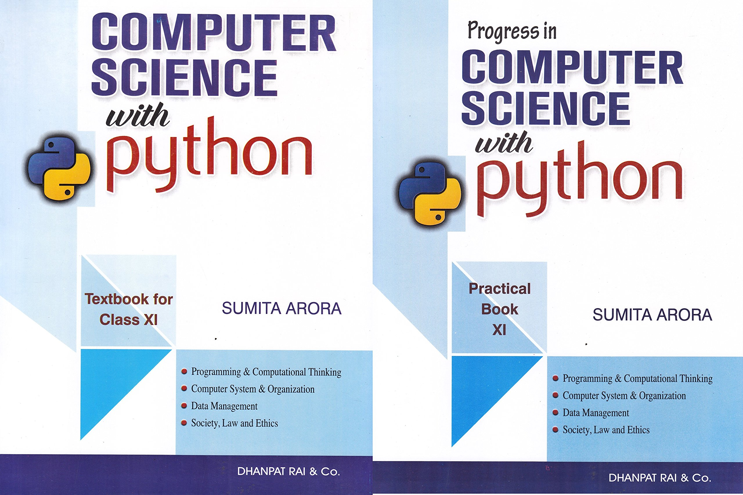 Computer Science with Python by Sumita Arora Class XI