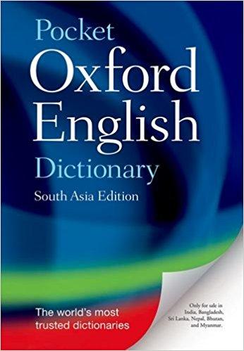 Oxford Pocket Dictionary