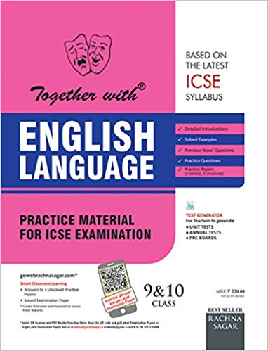 Together with ICSE English language Class IX-X